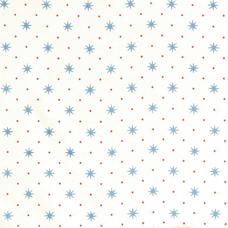 Sister Parish Serendipity fabric Blue Orange SPF 2500 2