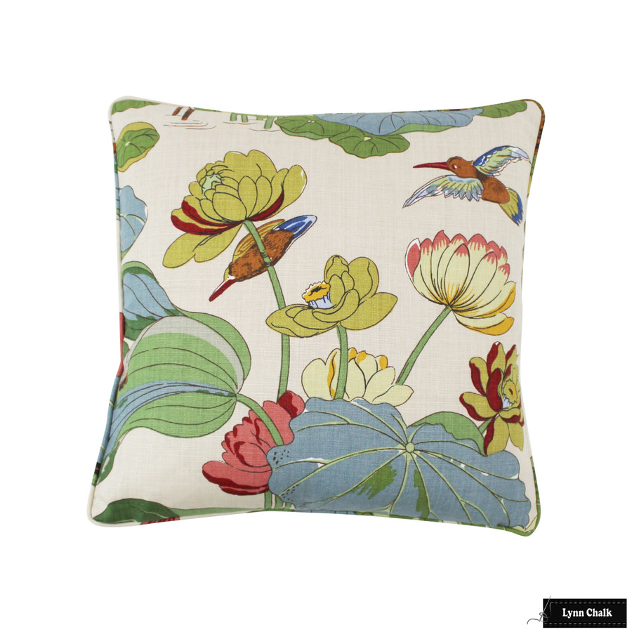 Pillow in Nympheus Stone/Pistachio (20 X 20)