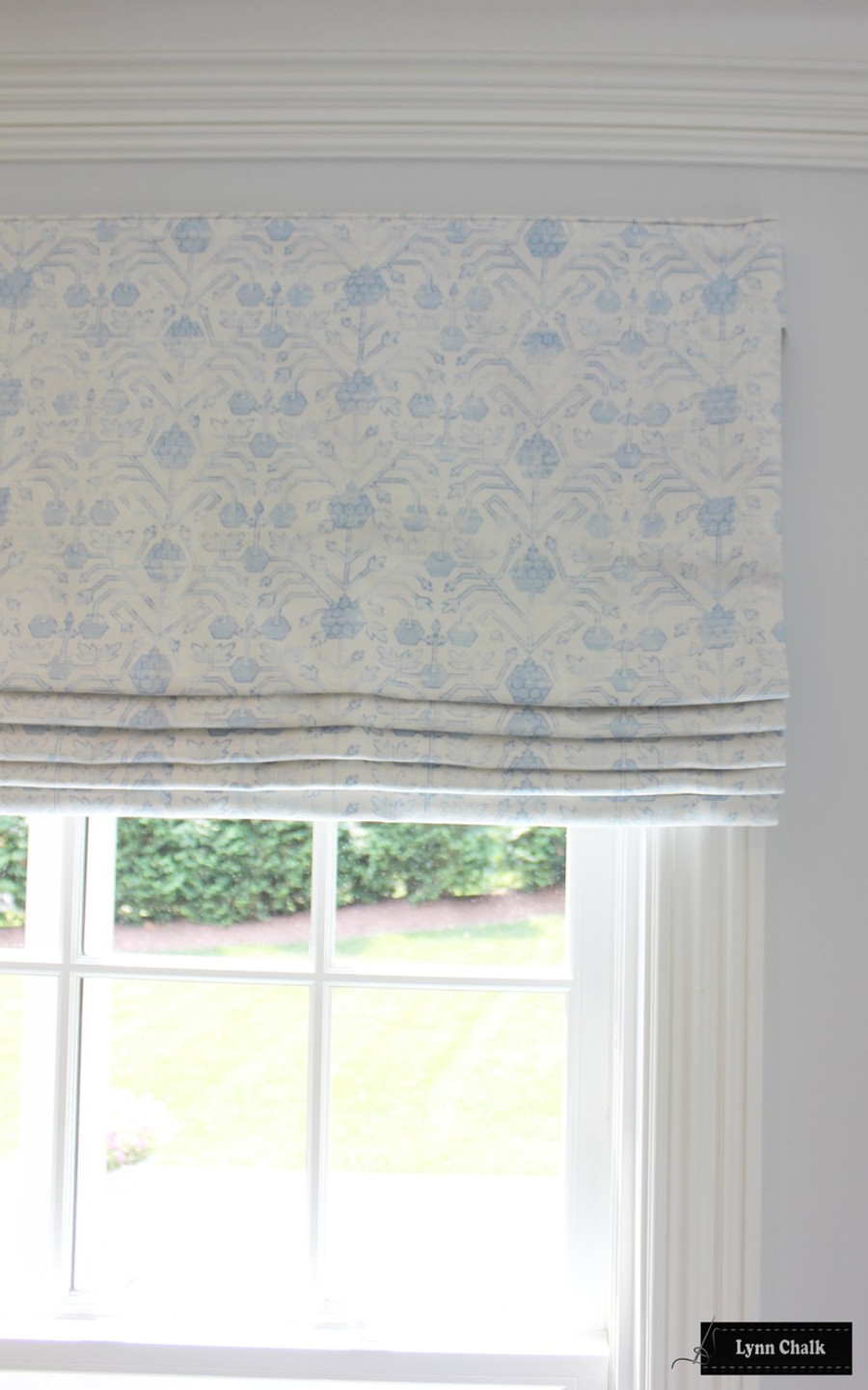 Zak & Fox Khotan Roman Shade (shown in Pembe-comes in other colors)