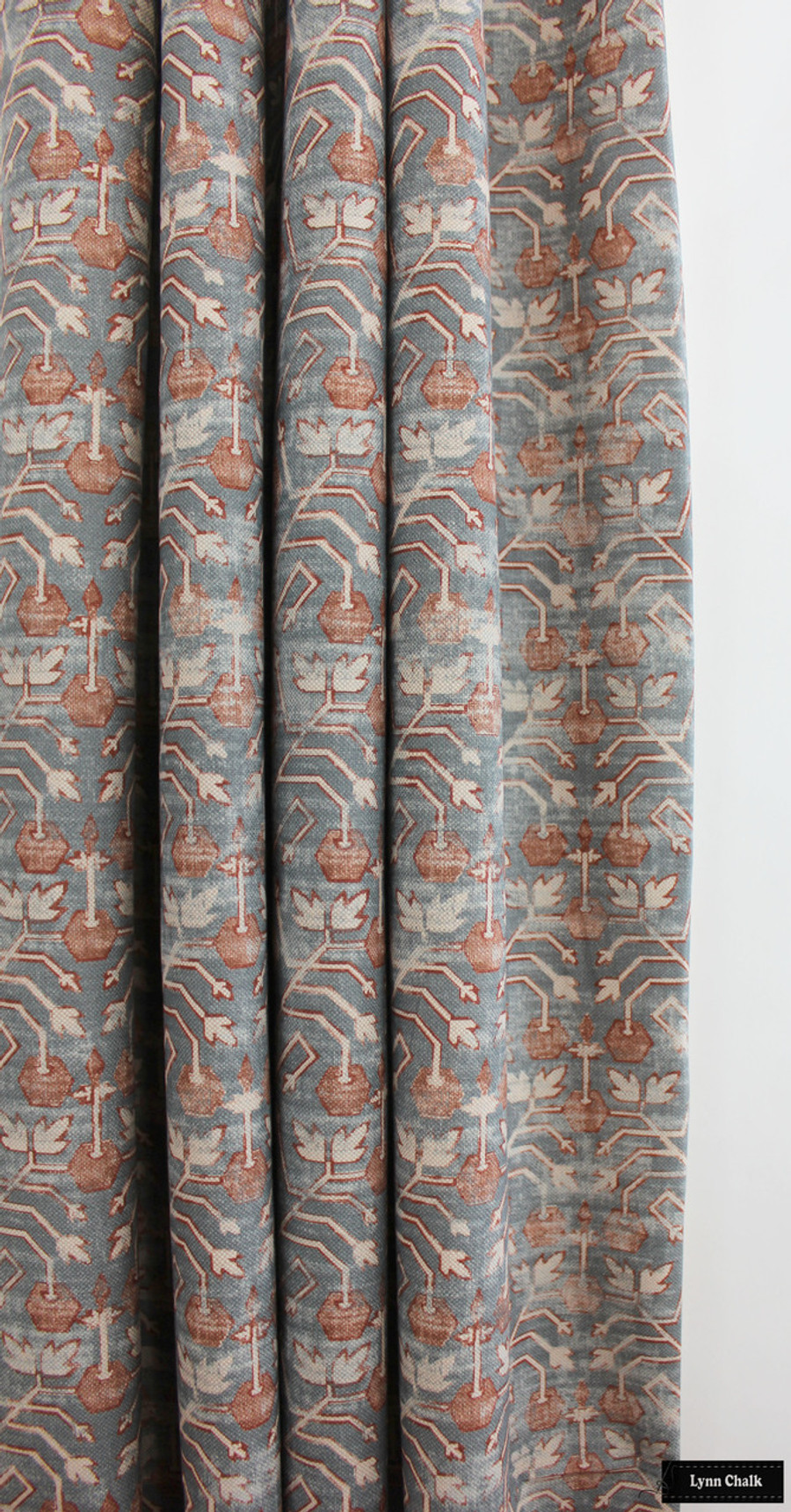 Zak & Fox Khotan Rubio Custom Drapes