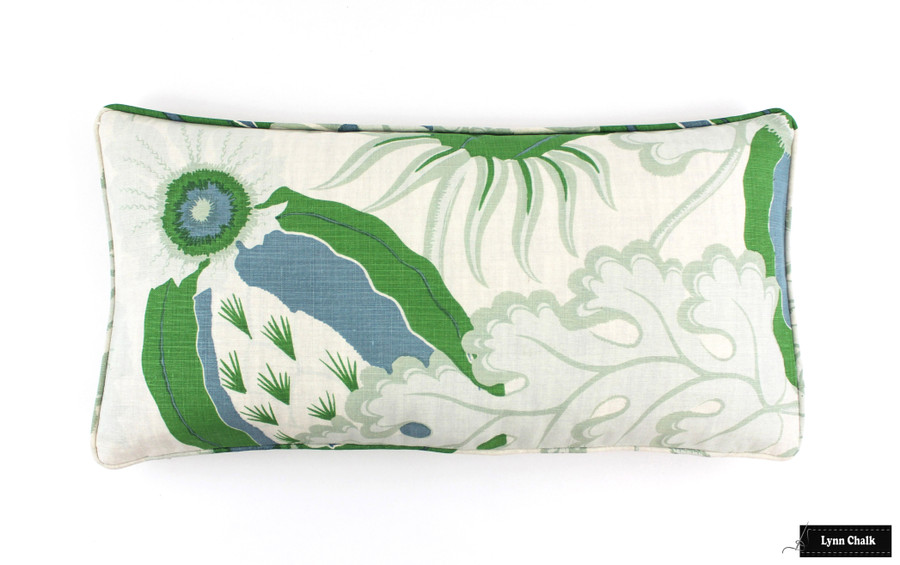 Christopher Farr Carnival Knife Edge Cushion (shown in Green-comes in 6 colors)