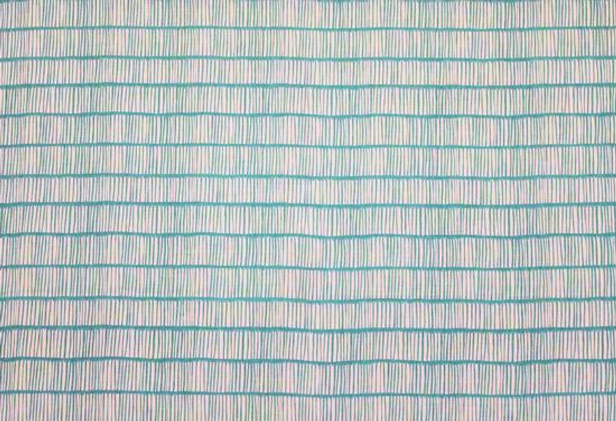 Christopher Farr Cloth Crochet Aquamarine Linen