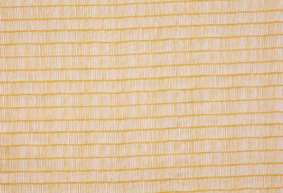 Christopher Farr Cloth Crochet Lemon Yellow Linen