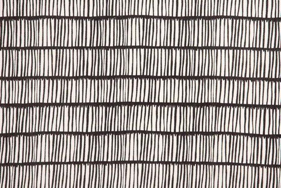 Christopher Farr Cloth Crochet Charcoal Linen