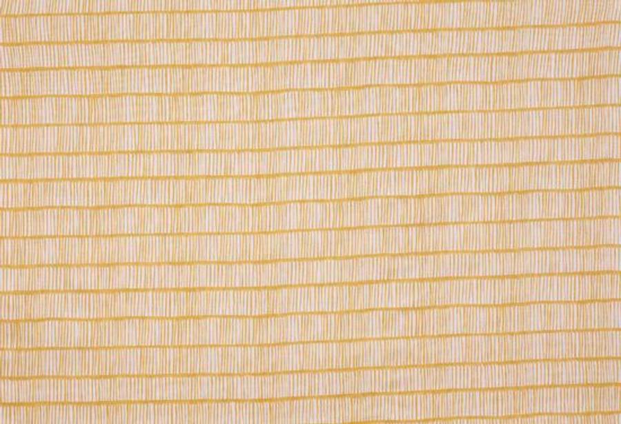 Christopher Farr Cloth Crochet Lemon Yellow Linen