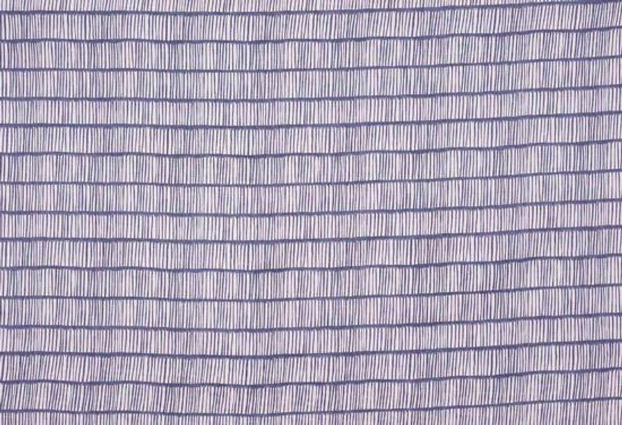 Christopher Farr Cloth Crochet Indigo Linen