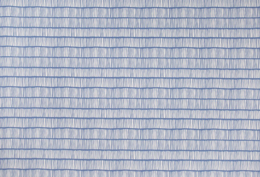 Christopher Farr Cloth Crochet Outdoor Solution Dyed Polyester Blue