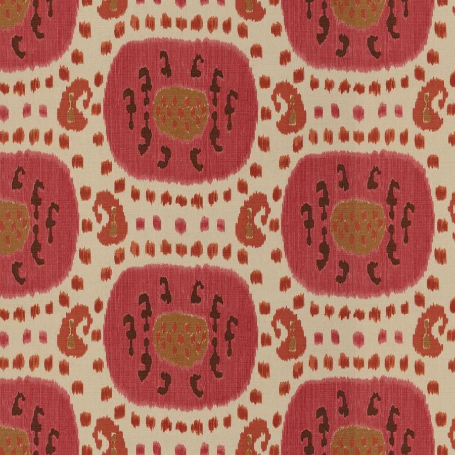 Brunschwig & Fils Samarkand Cotton and Linen Print - Brown on Beige BR-71110.08