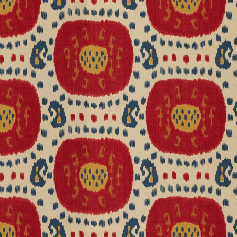 Brunschwig & Fils Samarkand Cotton and Linen Print Canton Blue Green BR-71110 221
