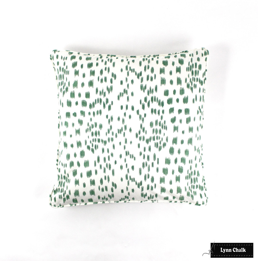 Brunschwig & Fils/Lee Jofa Les Touches Fabric Green 8012138.3 - 2 Yard Minimum Order