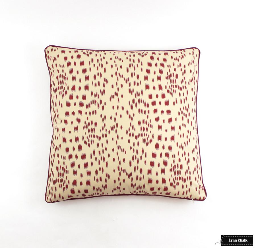 Brunschwig & Fils/Lee Jofa Les Touches Fabric Berry 8012138.119 - 2 Yard Minimum Order