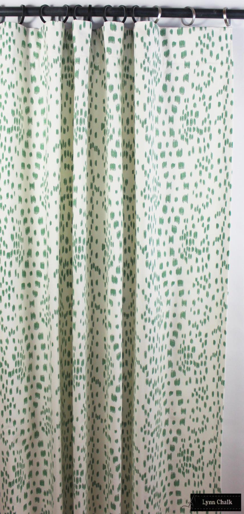 Brunschwig & Fils/Lee Jofa Les Touches Fabric Cotton Print Black BR-79585.970 - 2 Yard Minimum Order