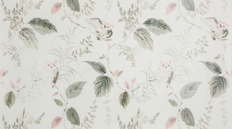 W3331 11 Owlish Wallpaper in Blush