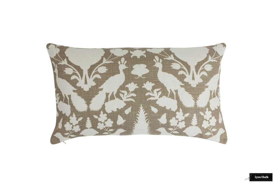 Pillow in Chenonceau Fawn (14 X 24)