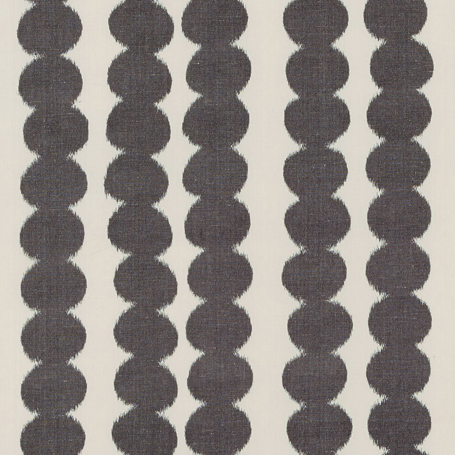 On Sale  - Schumacher Full Circle Faded Black 176250 - 2 Yard Remnant
