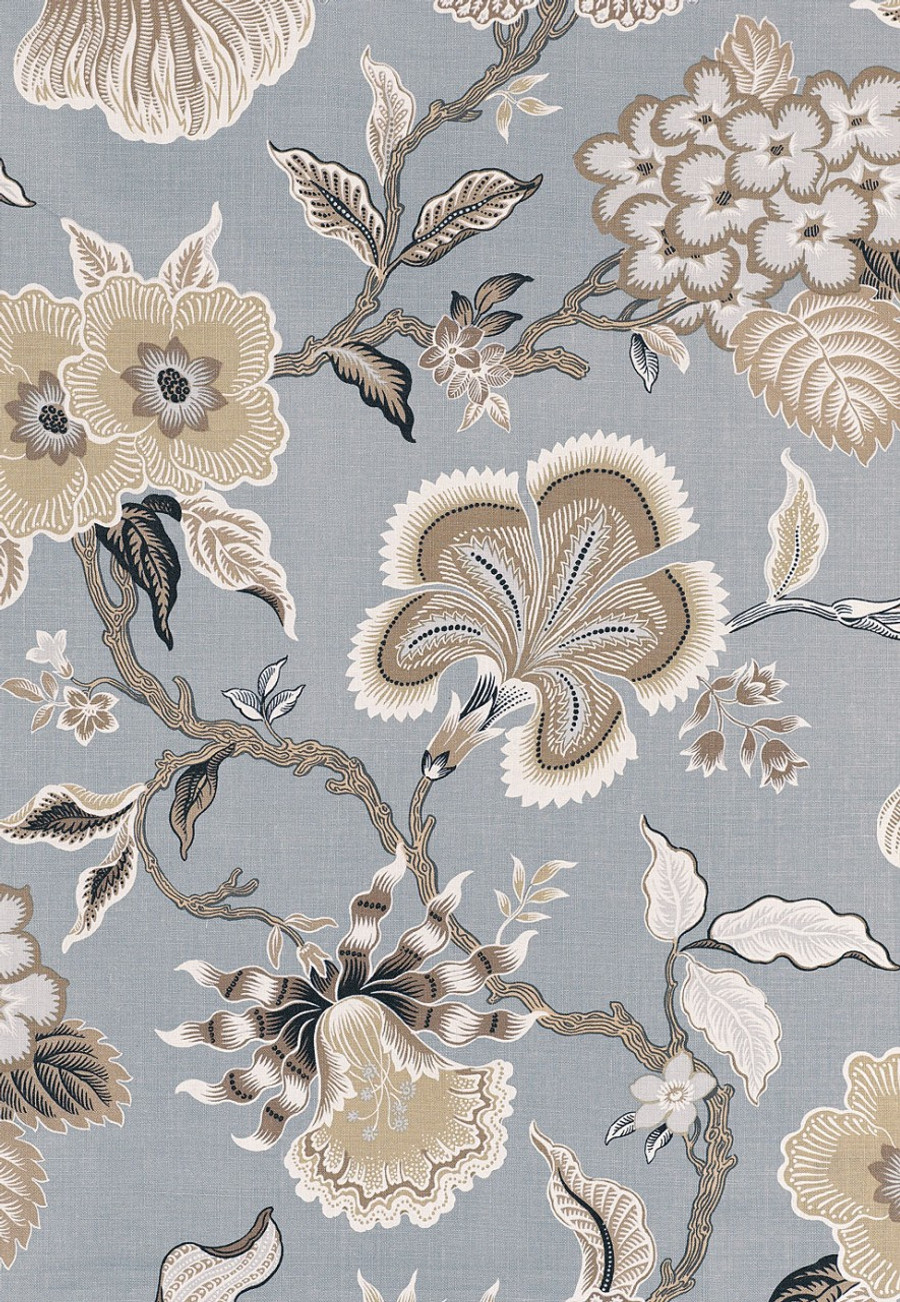 Celerie Kemble Hot House Flowers in Mineral