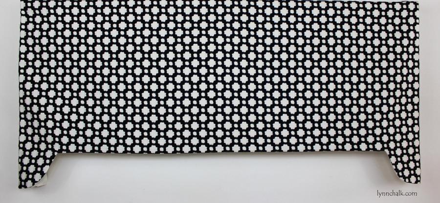 Schumacher Celerie Kemble Betwixt Black and White 65683