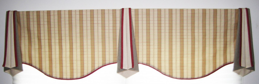 This is the Valance for a Double Window.