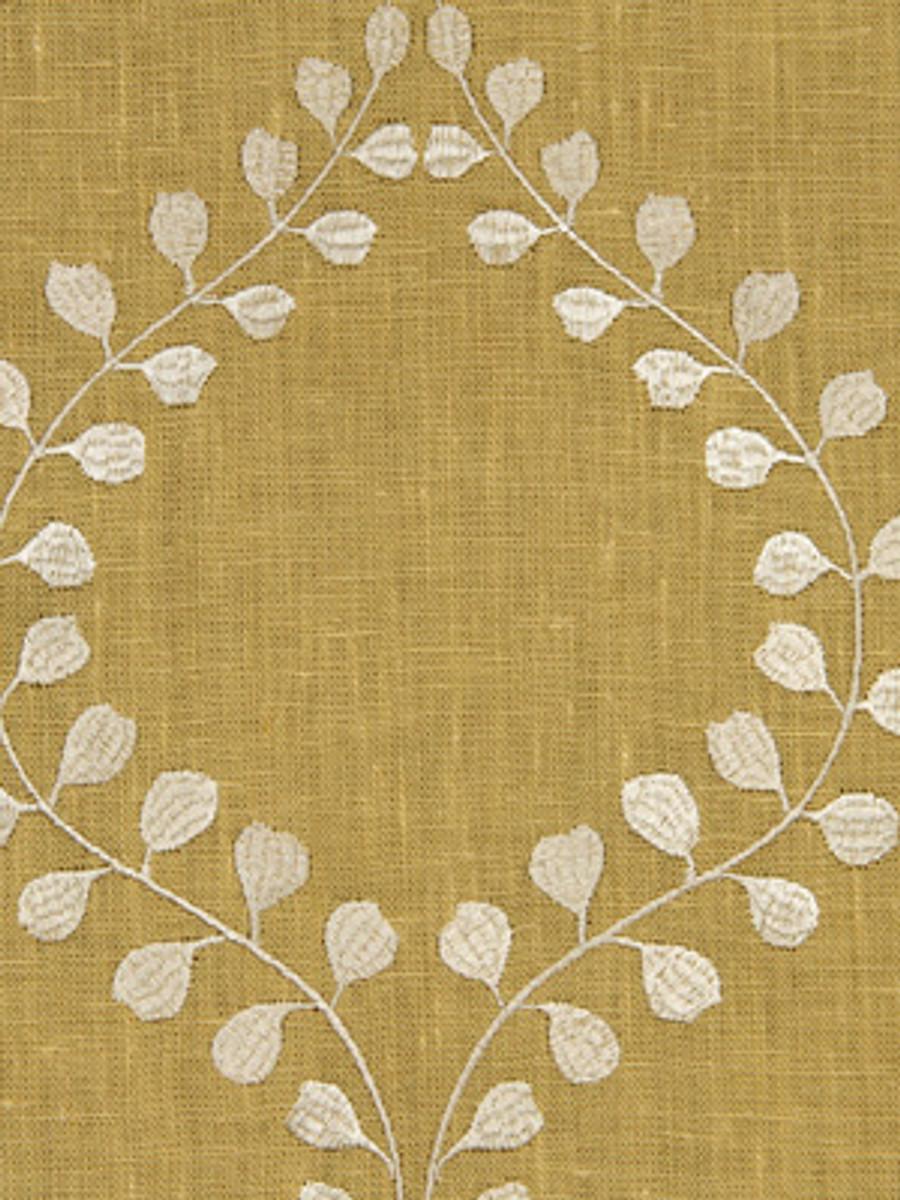 Winding Leaves in Goldenrod