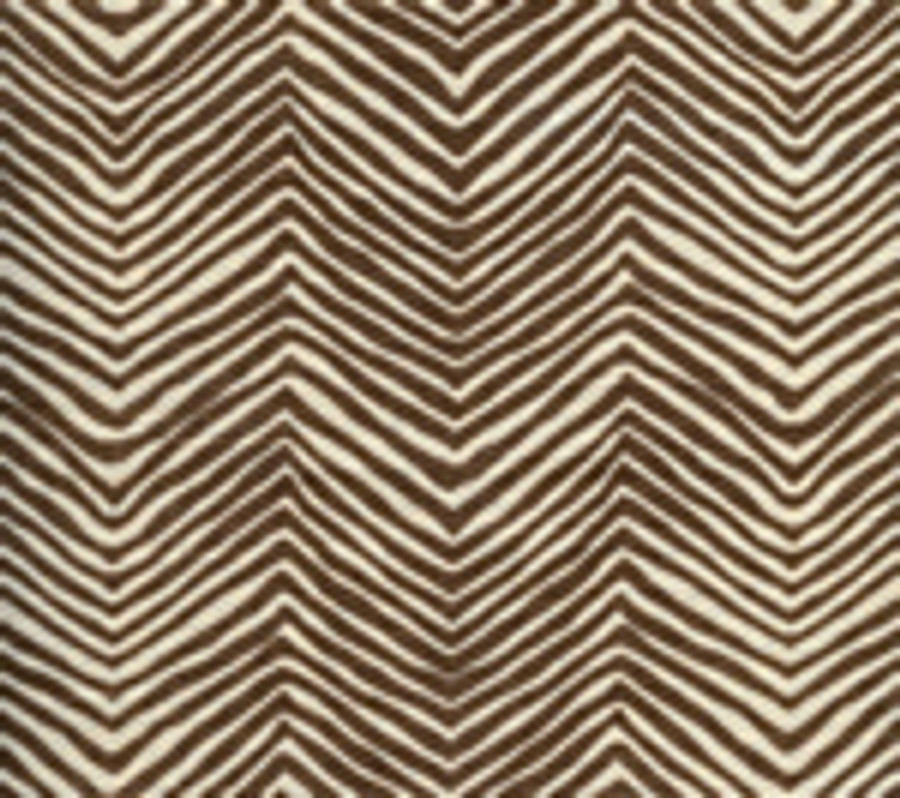 Quadrille Alan Campbell Petite Zig Zag New Brown On Tint
