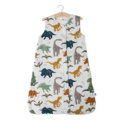 Cotton Muslin Sleeping Bag - Dino Friends