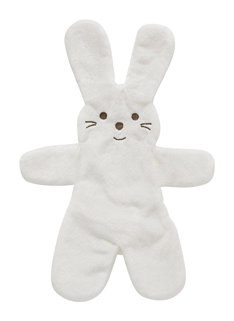Snuggle bunny white front