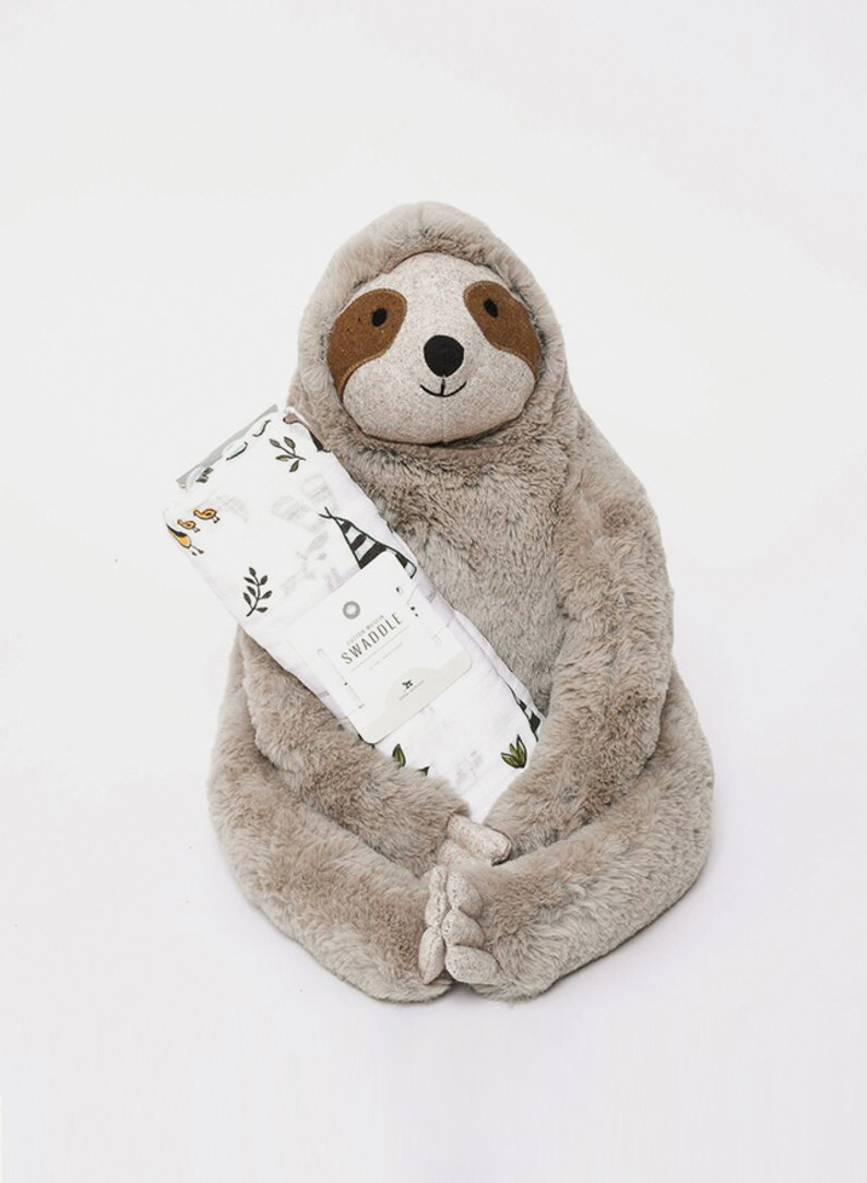 Tony the Sloth and Forest Friends Wrap