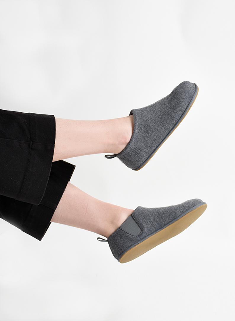 Women's slipper lifestyle grey