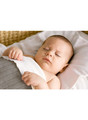 soft & thick gorgeous bassinet sheet in organic jersey.