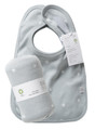 Bib set (2) reversible with swaddling wrap in coastal star