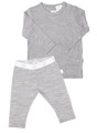 Merino PJ's Grey