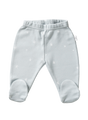 cotton leggings with feet coastal star