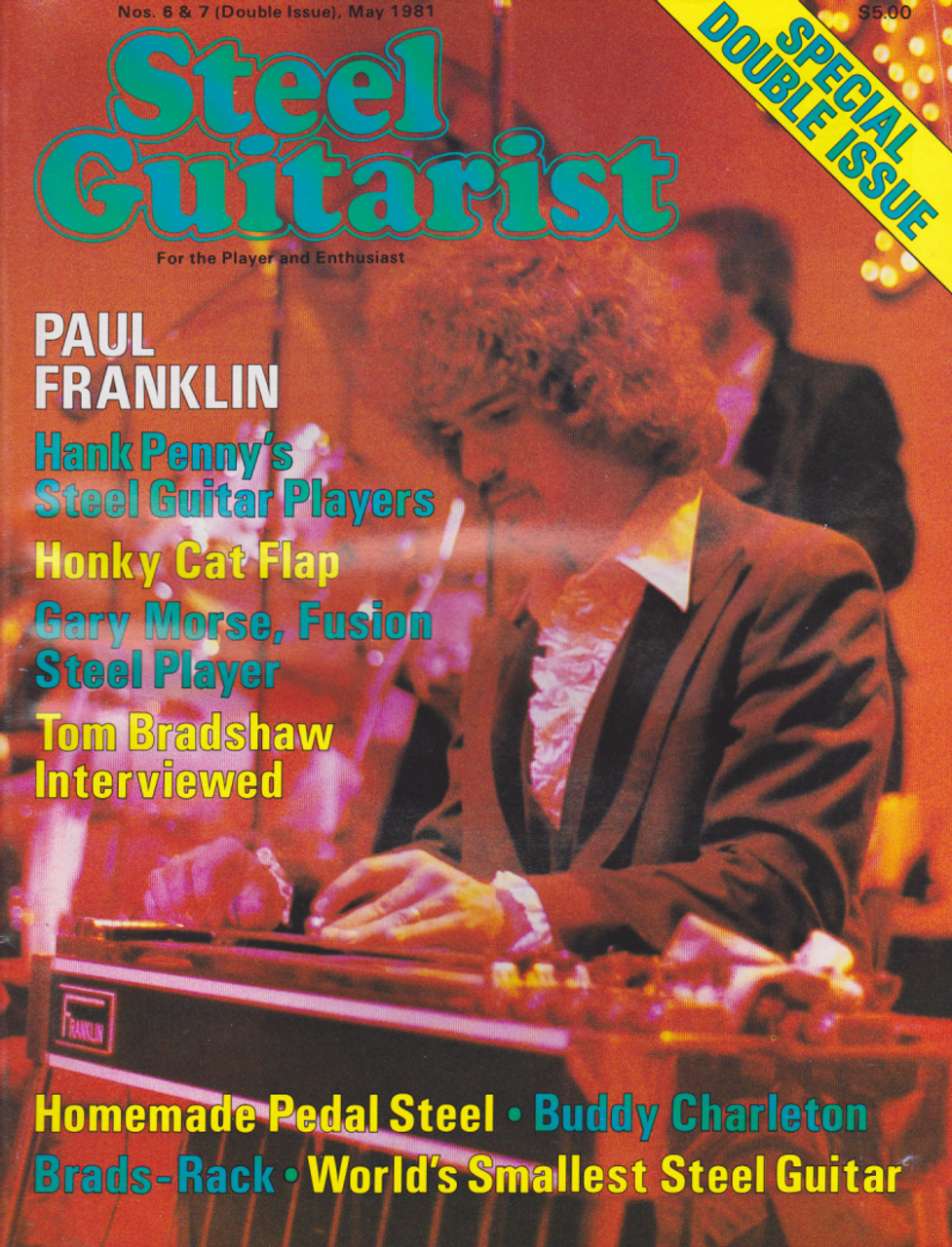 Steel Guitarist Magazine - All 6 Issues