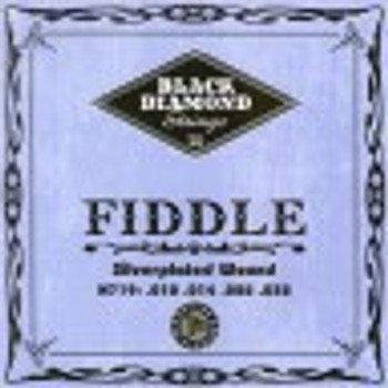 Black Diamond Fiddle Silverplated