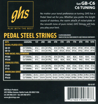 GHS C6th Nickel-plated Steel