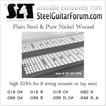 SIT® E13th, pure nickel wound