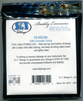SIT® Buddy Emmons E9th, stainless wound