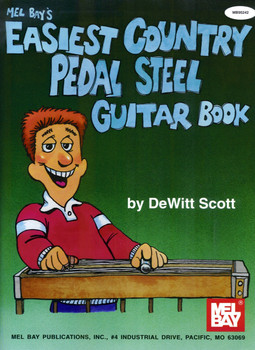 Mel Bay's Easiest Country Pedal Steel Guitar Book