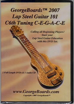 Lap Steel Guitar 101, C6th Tuning DVDs