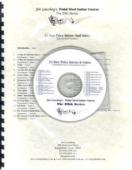 25 Ray Price Intros and Solos by Jim Loessberg