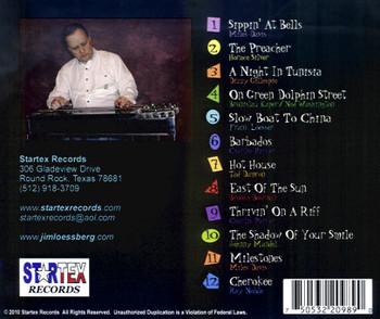 Jim Loessberg CD Bebop Etc