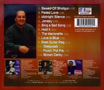Jim Loessberg CD Sawed-Off Shotgun