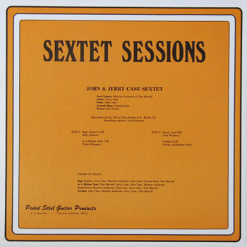 Anderson and Morrell LP Sextet Sessions