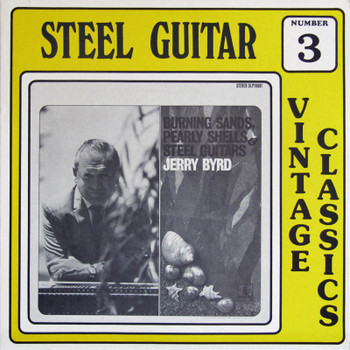 Jerry Byrd LP Burning Sands, Pearly Shells & Steel Guitars