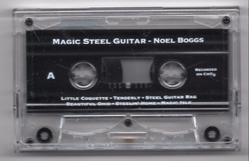 Noel Boggs tape Magic Steel Guitar