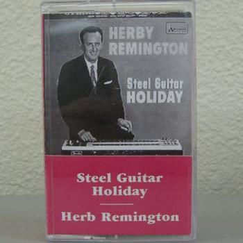 Herb Remington tape Steel Guitar Holiday