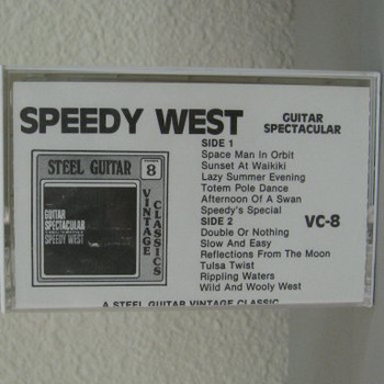 Guitar Spectacular - Speedy West tape