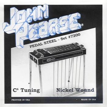 John Pearse #7200 Pedal Steel C6th High G