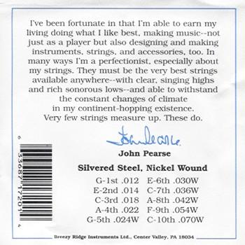 John Pearse #7200 Pedal Steel C6
