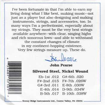 John Pearse #7100 Pedal Steel E9th Standard